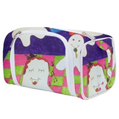 Circus Ghosts Sing Toiletries Pouch by snowwhitegirl