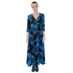 Vision Button Up Maxi Dress