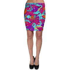 Dinos Bodycon Skirt by Sobalvarro