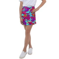 Dinos Kids  Tennis Skirt by Sobalvarro