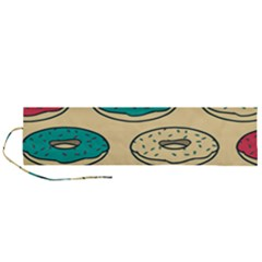 Donuts Roll Up Canvas Pencil Holder (l)