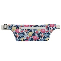 Beautiful Floral Pattern Active Waist Bag