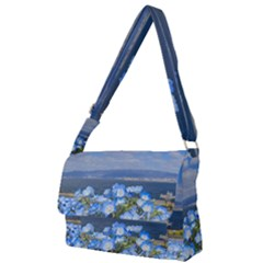 Floral Nature Full Print Messenger Bag (l)