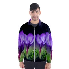 Floral Nature Men s Windbreaker