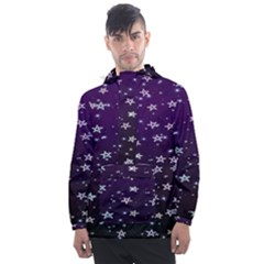 Stars Men s Front Pocket Pullover Windbreaker