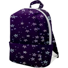 Stars Zip Up Backpack