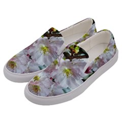Pinkfloral Men s Canvas Slip Ons by Sparkle