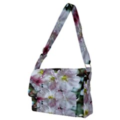 Pinkfloral Full Print Messenger Bag (m) by Sparkle