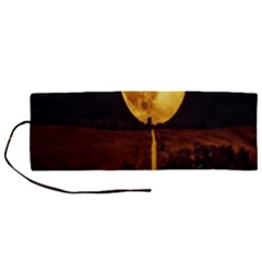 Moon Road Roll Up Canvas Pencil Holder (m)