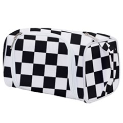 Chess Board Background Design Toiletries Pouch