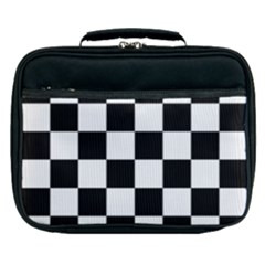 Chess Board Background Design Lunch Bag