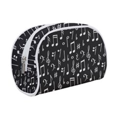 Chalk Music Notes Signs Seamless Pattern Makeup Case (small)