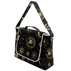 Asian Set With Clouds Moon Sun Stars Vector Collection Oriental Chinese Japanese Korean Style Box Up Messenger Bag by Bejoart