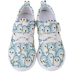 Penguins Pattern Women s Velcro Strap Shoes by Bejoart