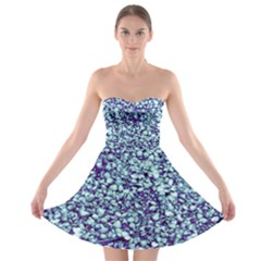 Blue Shells Strapless Bra Top Dress by treegold