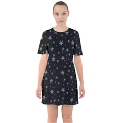 Memphis Stars Sixties Short Sleeve Mini Dress by treegold