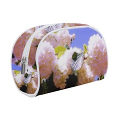 Pink Snowball Branch Makeup Case (small)
