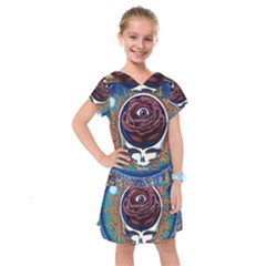 Grateful Dead Ahead Of Their Time Kids  Drop Waist Dress