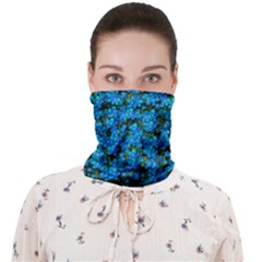 Blue Sakura Forest  Tree So Meditative And Calm Face Covering Bandana (adult)