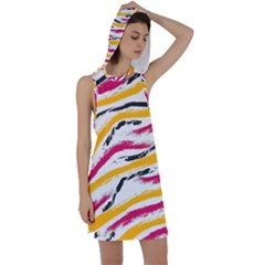 Painted Shades Racer Back Hoodie Dress