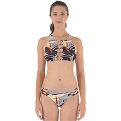 Iceland Landscape Mountains Snow Perfectly Cut Out Bikini Set