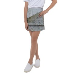 Map-navigation-orientation-drawing-geography Kids  Tennis Skirt