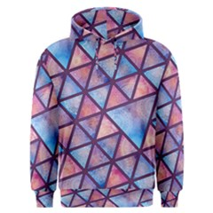 Triangle Mandala Pattern Men s Overhead Hoodie