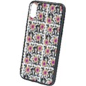 60s Girl Floral White iPhone X/XS Soft Bumper UV Case View1