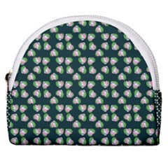 Darla Teal Horseshoe Style Canvas Pouch by snowwhitegirl