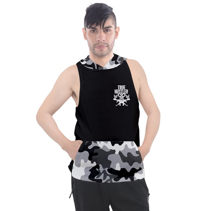 All Day Hustler Men s Sleeveless Hoodie