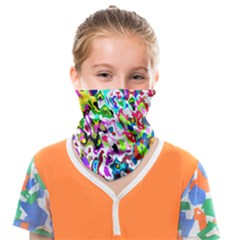 Colorful Paint Texture                                                Face Covering Bandana (kids)