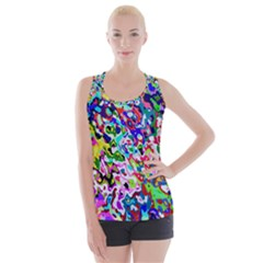 Colorful Paint Texture                                                   Criss Cross Back Tank Top