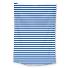 Classic Marine Stripes Pattern, Retro Stylised Striped Theme Large Tapestry by Casemiro