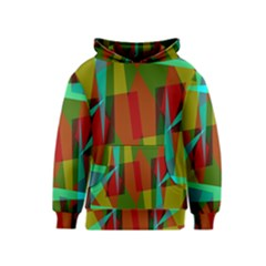 Rainbow Colors Palette Mix, Abstract Triangles, Asymmetric Pattern Kids  Pullover Hoodie by Casemiro