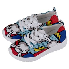 Rays Smoke Pop Art Style Vector Illustration Kids  Lightweight Sports Shoes by Amaryn4rt