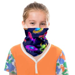 Space Pattern Face Covering Bandana (kids)