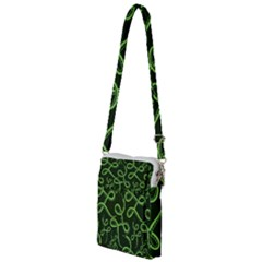 Snakes Seamless Pattern Multi Function Travel Bag