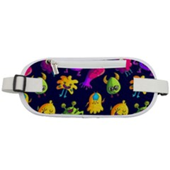 Space Patterns Rounded Waist Pouch