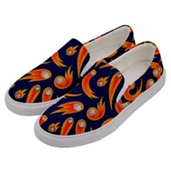 Space Patterns Pattern Men s Canvas Slip Ons by Amaryn4rt
