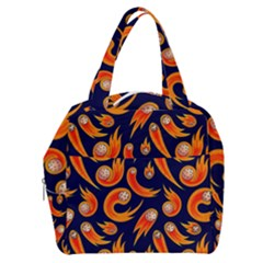 Space Patterns Pattern Boxy Hand Bag by Amaryn4rt