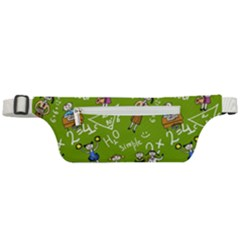 Seamless Pattern With Kids Active Waist Bag