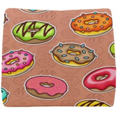 Doughnut Doodle Colorful Seamless Pattern Seat Cushion