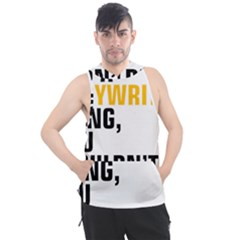 07 Copywriting Thing Copy Men s Sleeveless Hoodie