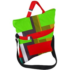 Serippy Fold Over Handle Tote Bag
