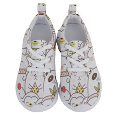 Cute-baby-animals-seamless-pattern Running Shoes by Sobalvarro