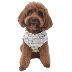 Cute-baby-animals-seamless-pattern Dog Fleece by Sobalvarro