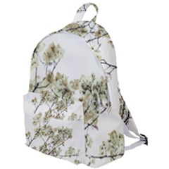 Photo Illustration Flower Over White Background The Plain Backpack by dflcprintsclothing