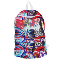 Crazy Grafitti Foldable Lightweight Backpack by essentialimage