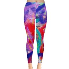 Crazy Graffiti Leggings  by essentialimage
