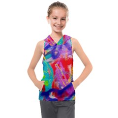 Crazy Graffiti Kids  Sleeveless Hoodie by essentialimage